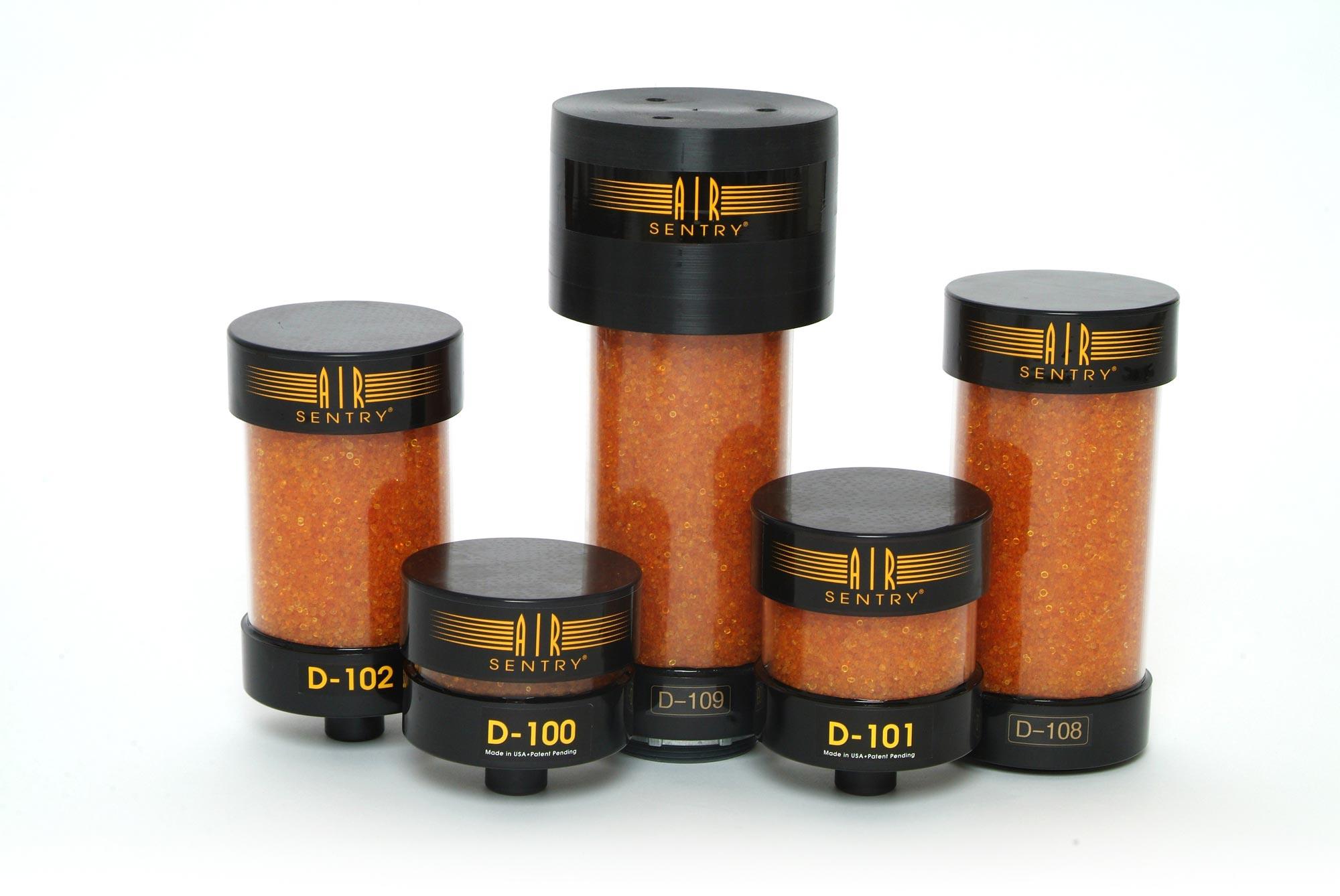 Air Sentry D-serien, industriklassade andningsventilatorer för filtrering av luft till känslig utrustning