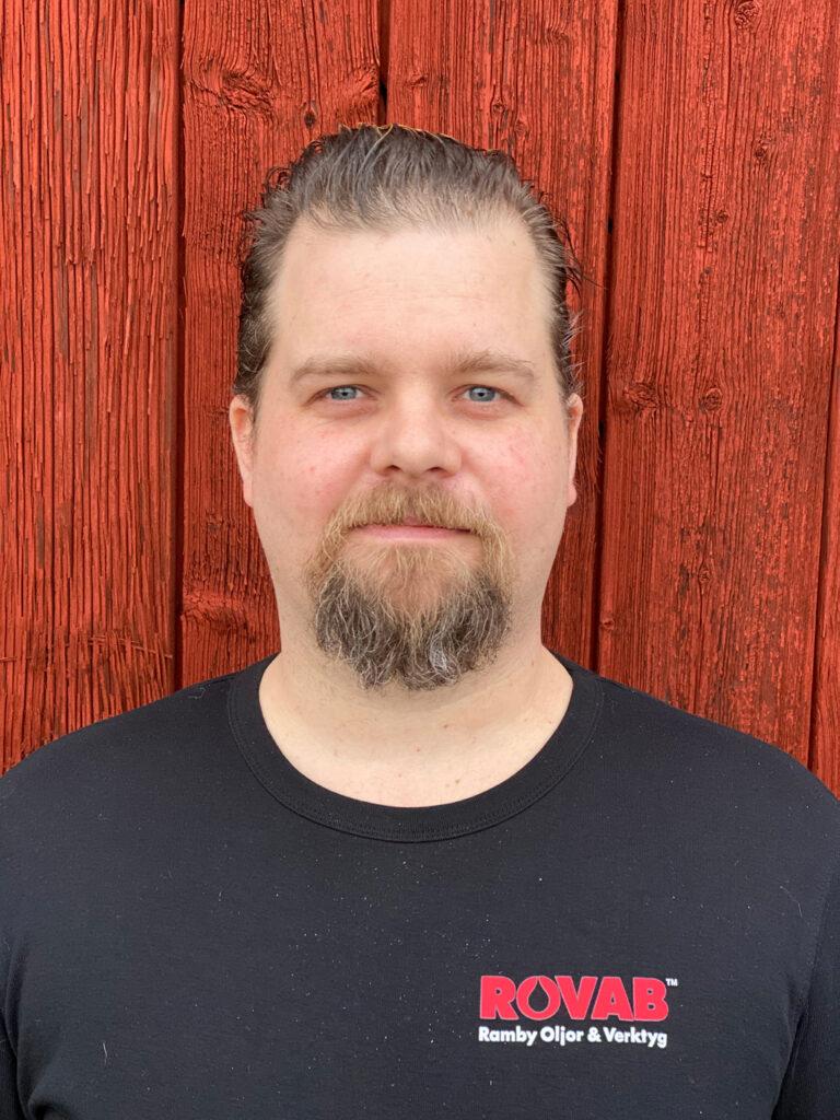 Johan Pettersson - teknisk säljare på ROVAB
