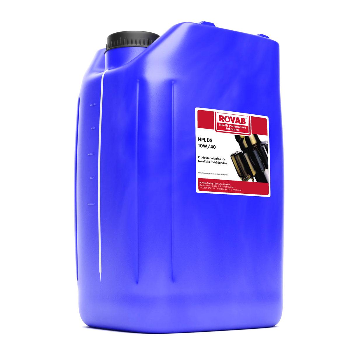 NPL DS 10W40 Motorolja 20 liter