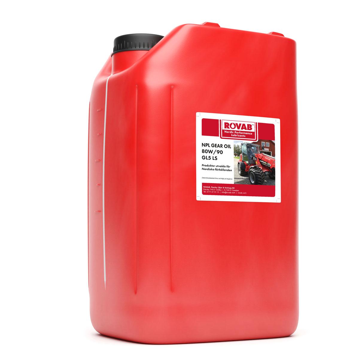 NPL Gear Oil 80W/90 GL5 Ls 20 liter
