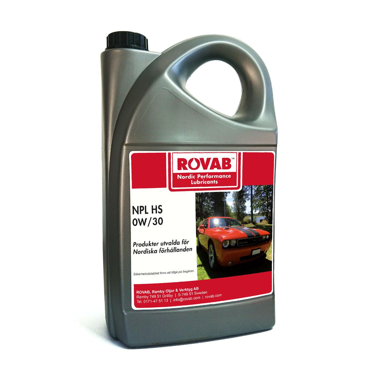 NPL HS 0W30 motorolja 5 liter