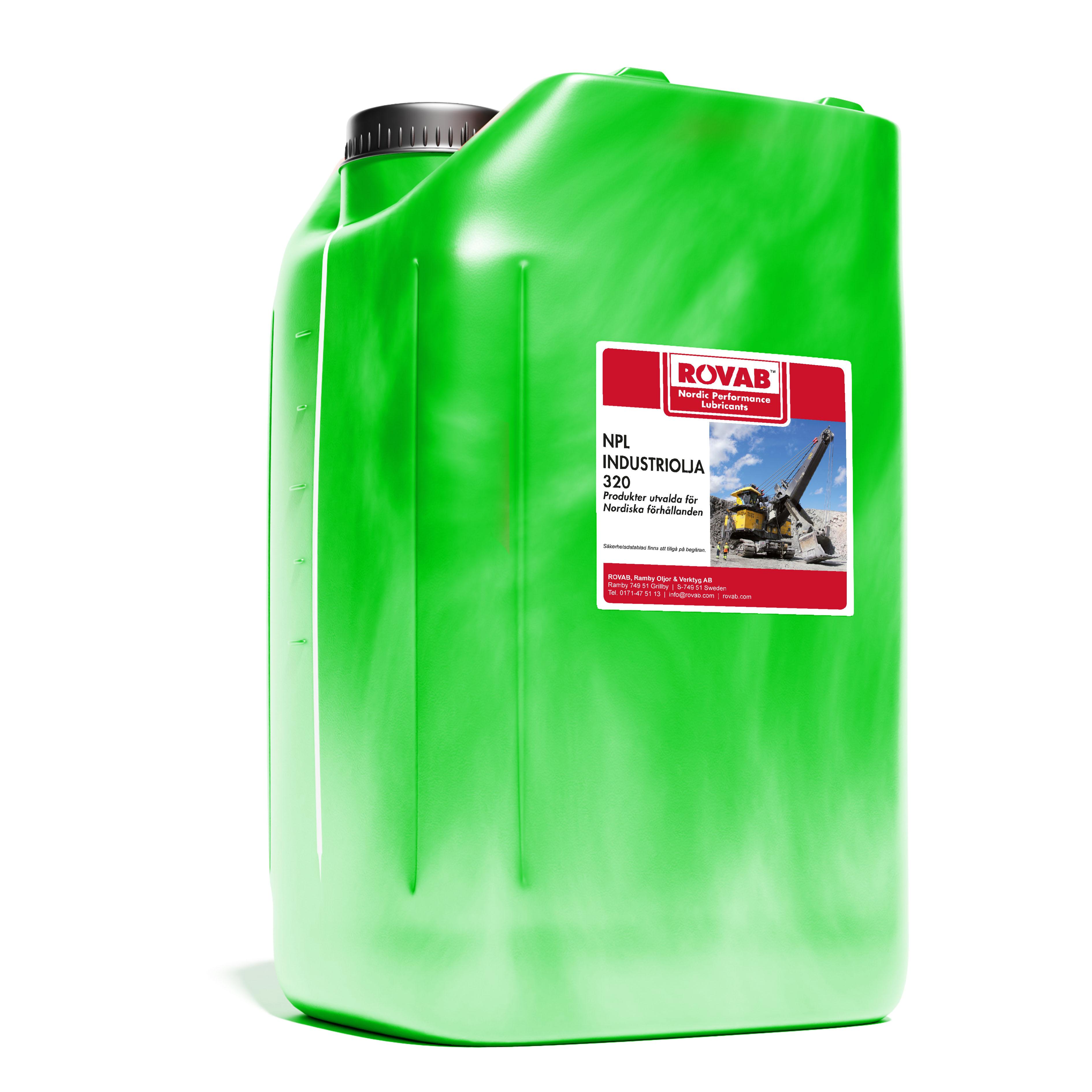 20 liter industriolja