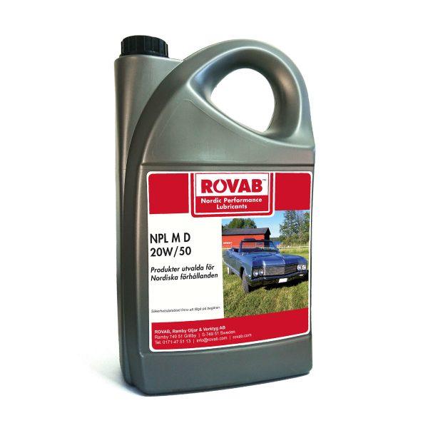 NPL_M_D_20W50 Motorolja 5 liter